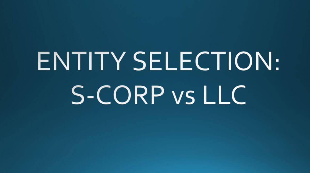 s-corp vs llc