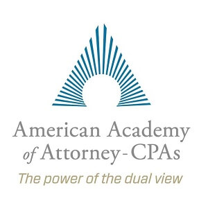 Member of the American Academy of Attorney-CPAs