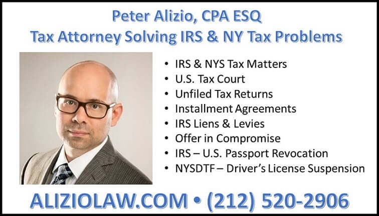 Nassau County Tax Attorney Services