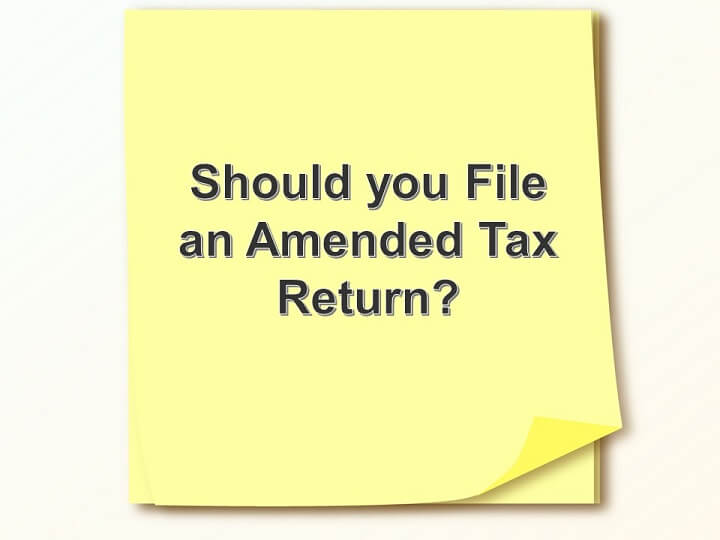 Should You File an Amended Tax Return?