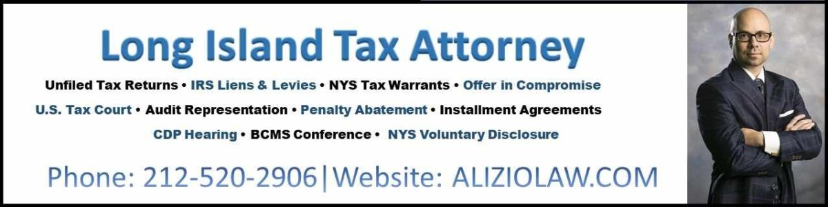 Long Island Tax Attorney