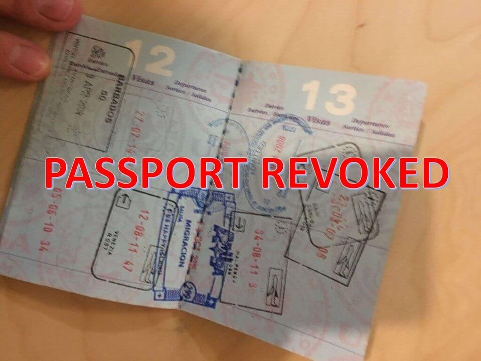 IRS Passport Revocation