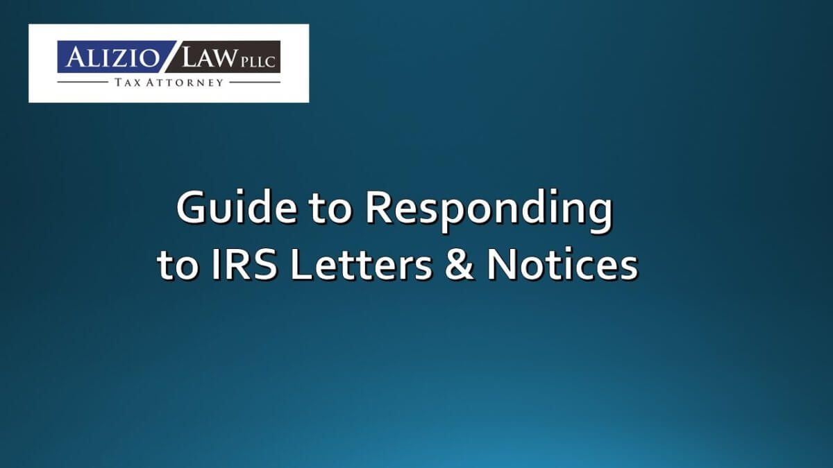 Guide to Responding to IRS Notices