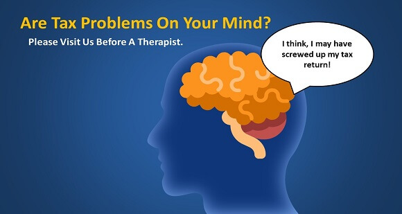 Do you have tax problems on your mind?